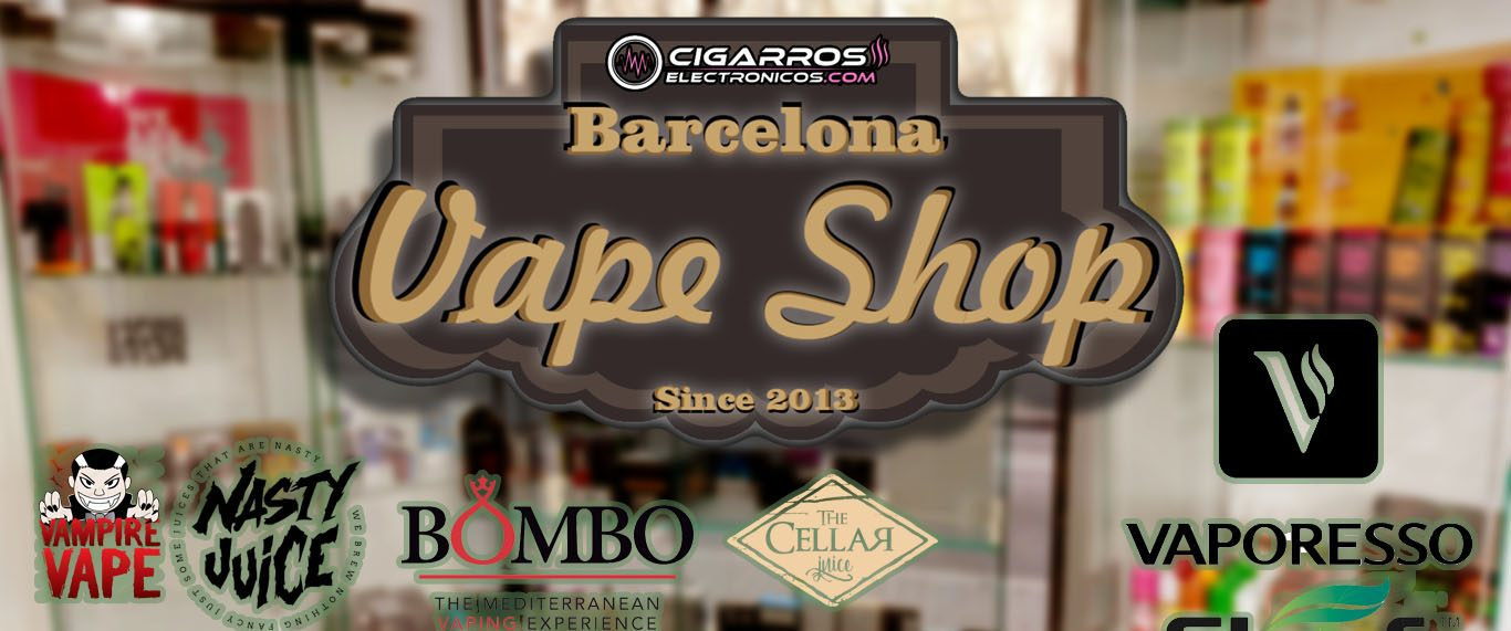 Barcelona vape shop