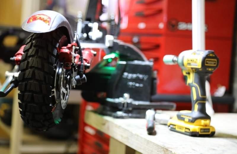Curso repararción patinetes eléctricos